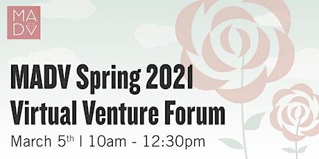 Mid-Atlantic Diamond Ventures Spring  2021 VIRTUAL Venture Forum tickets