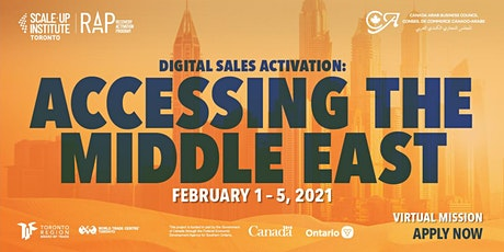 Digital Sales Activation - Accessing the Middle East tickets