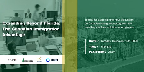 Expanding Beyond Florida: The Canadian Immigration Advantage tickets