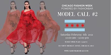 Model Call 2: 2021FW  - Chicago Fashion Week powered by FashionBar LLC tickets