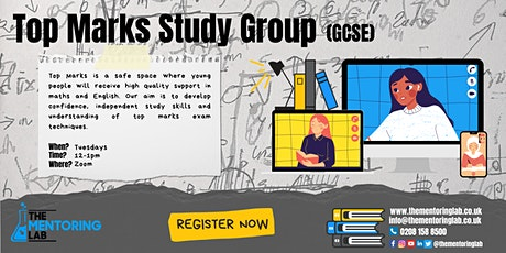 Top Marks Study Group GCSE tickets