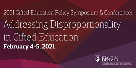2021 Gifted Education Policy Symposium and Conference tickets