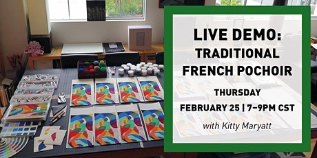 LIVE DEMO: Traditional French Pochoir tickets