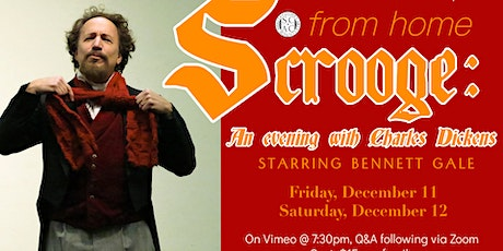 Scrooge: An Evening with Charles Dickens tickets