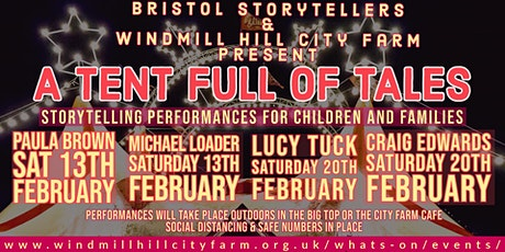 A Tent Full of Tales - The Lion in The Orchard tickets