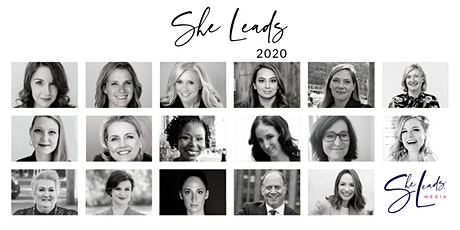 She Leads 2020 ONLINE Conference for Women Leaders & Women Entrepreneurs tickets