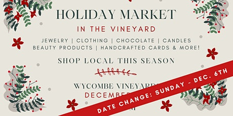 Holiday Market In The Vineyard tickets