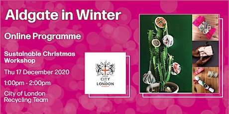 Sustainable Christmas Workshop tickets