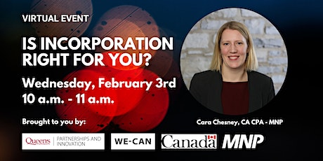 Is Incorporation Right for You? tickets