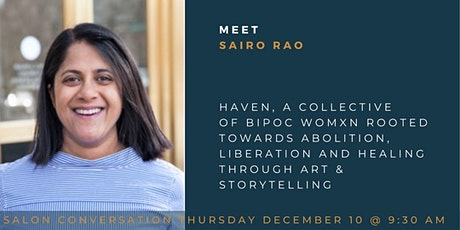 Coffee with The Community with Saira Rao, Co-Founder Haven Media tickets