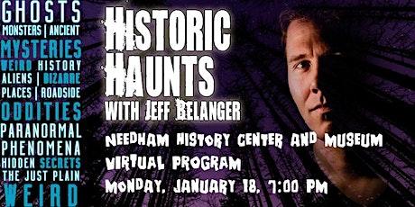 Historic Haunts with Jeff Belanger tickets
