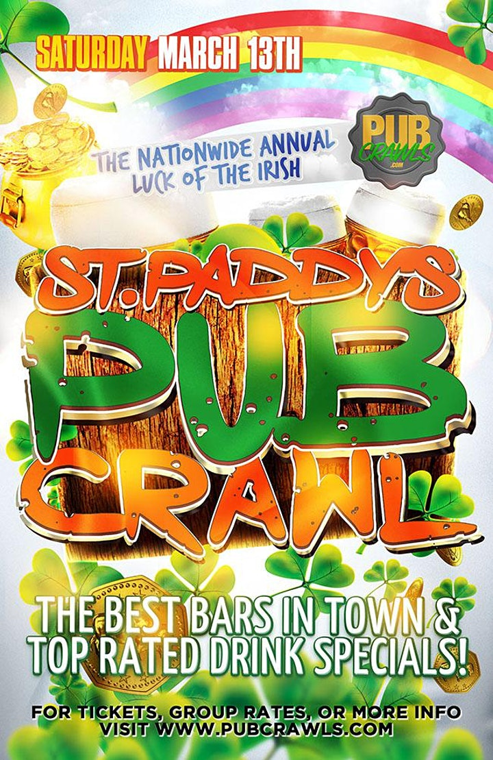 "Arlington ""Luck of the Irish"" Pub Crawl St Paddy's Weekend 2021 image"