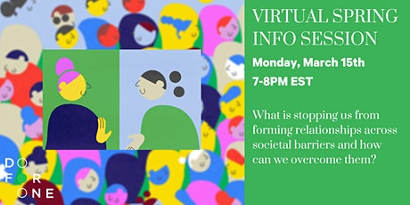 Do For One: Virtual Spring Info Session tickets