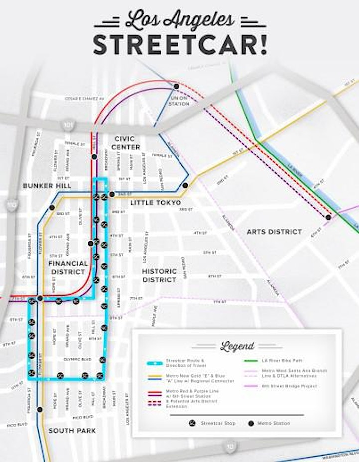 Learn about Downtown LA Streetcar Project with Der image