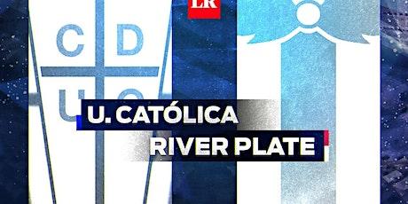 TV/VIVO.-River Plate v U. Católica E.n Viv y E.n Directo ver Partido online entradas