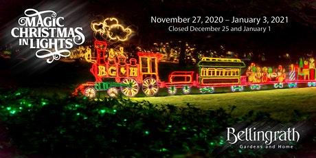 Bellingrath Gardens and Home - Magic Christmas in Lights 2020 tickets