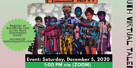Black Arts Movement Youth Virtual talent showcase tickets