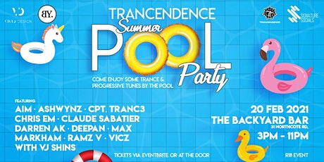 Trancendence Summer Pool Party tickets