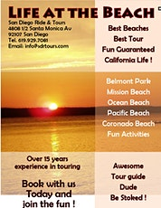 "San Diego ""Life at the Beach"" Tour tickets"