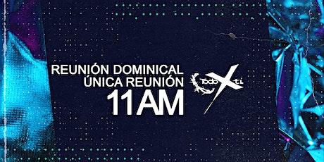 Reunión dominical - única reunión - 06 de diciembre de 2020 boletos