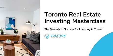 Toronto Real Estate Investing Masterclass tickets