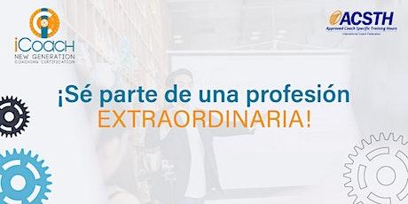 Certificación de Coach Profesional boletos