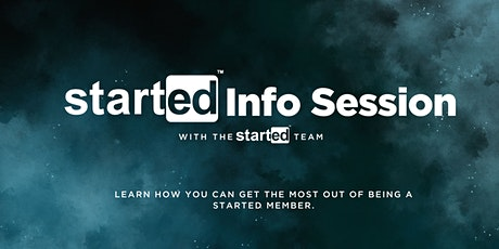 StartEd Info Session tickets