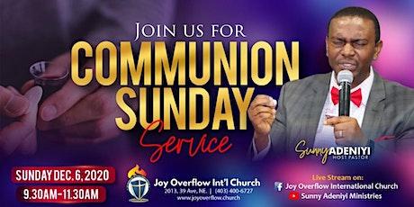 Communion Sunday Worship Service tickets