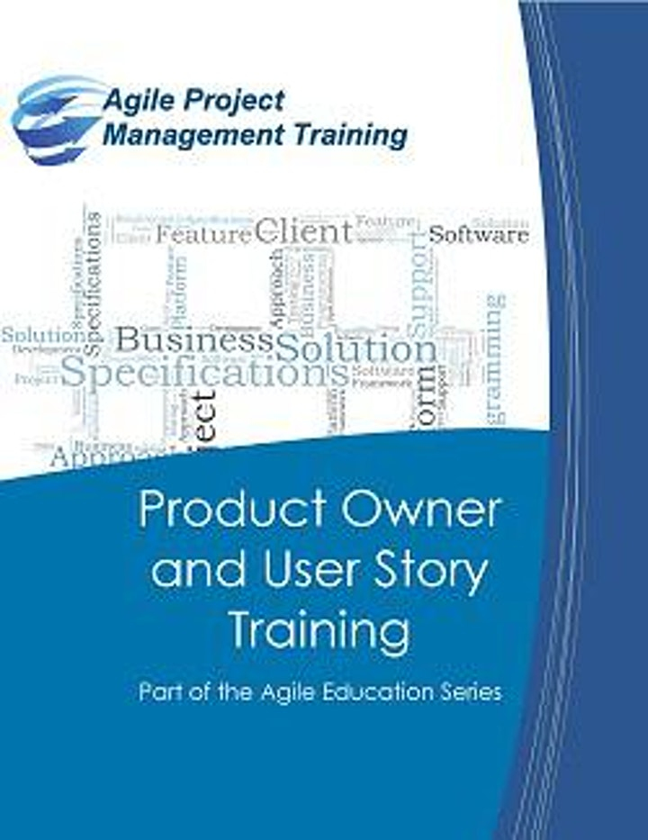 Product Owner and User Story Training: Virtual image
