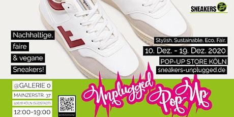 Pop-Up Store Köln! Nachhaltige, vegane und faire Sneakers! Große Auswahl! Tickets