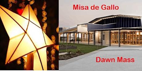 Misa de Gallo - Dawn Mass - Stella Maris Church 5.00am Thurs Dec 24 tickets