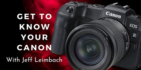 Get to know your Canon - with Jeff Leimbach tickets