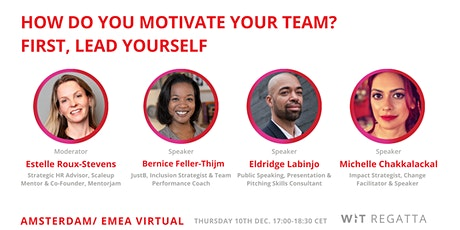 How Do You Motivate Your Team? First, Lead Yourself tickets