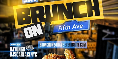 Brunch on 5th Ave Day Party at 5th & Mad nyc prefix 2hr unlimited Drinks tickets