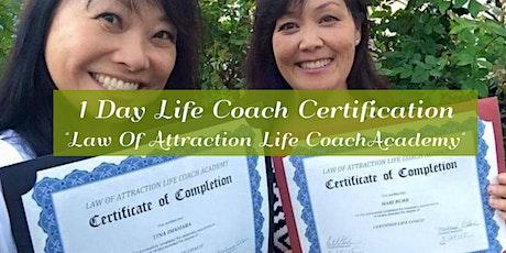 Life Coach Certification Class tickets