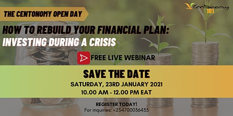 How To Rebuild Your Financial Plan: Investing During A Crisis tickets