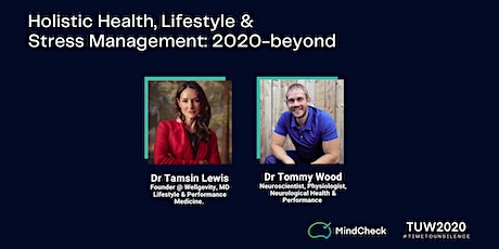 Holistic Health, Lifestyle & Stress Management (TUW 2020) tickets