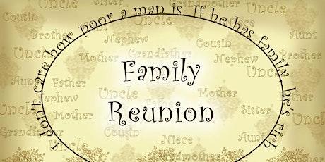 JC's Family Retreat/Reunion tickets