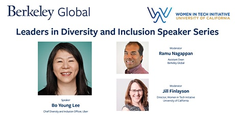 Conversation with Bo Young Lee, Chief Diversity and Inclusion Officer, Uber tickets