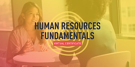 Human Resources Fundamentals Certificate (4 Sessions) tickets
