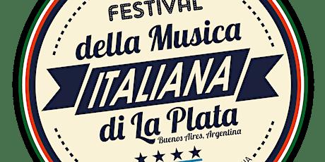 Audición VI Festival de la Música Italiana , Edición 2021, Sede Rosario entradas