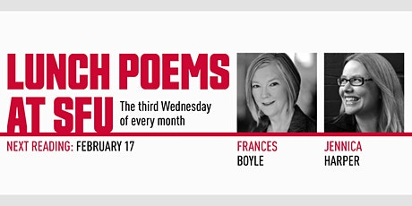 Lunch Poems presents Frances Boyle & Jennica Harper tickets