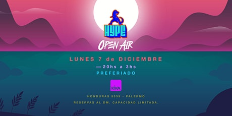 HYPE Open Air entradas