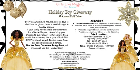Holiday Toy Giveaway tickets