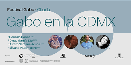 Festival Gabo Nº 8: Gabo en la CDMX entradas