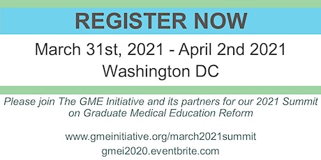 The GME Initiative 2021: Washington DC tickets