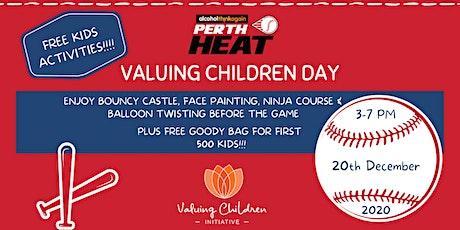 Valuing Children Day @ Perth Heat tickets