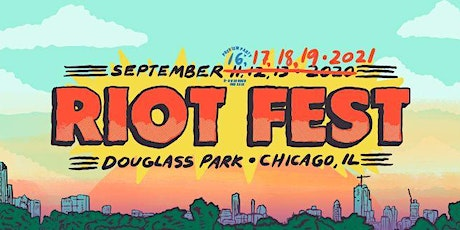 Riot Fest 2021 tickets