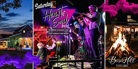 SATURDAY: Huey Lewis covered by  Heart & Soul & Great Texas Wine! tickets