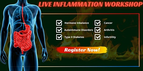 Inflammation Workshop - The Body's Warning Sign tickets